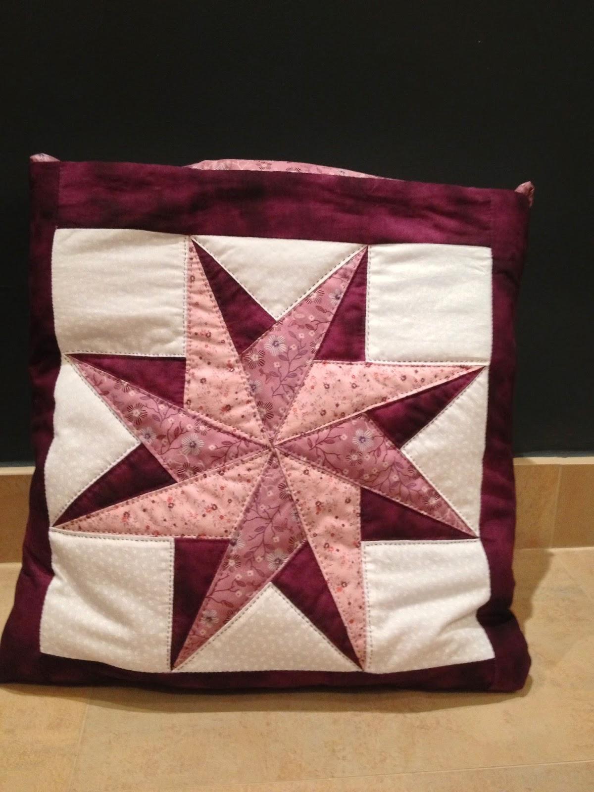 Lenube coj n manta de patchwork - Como hacer mantas de patchwork ...