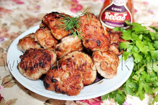 рецепт мясных котлет