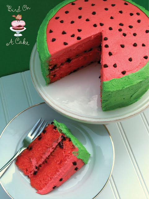 When I Told Her That Was Decorating A Cake To Look Like Watermelon