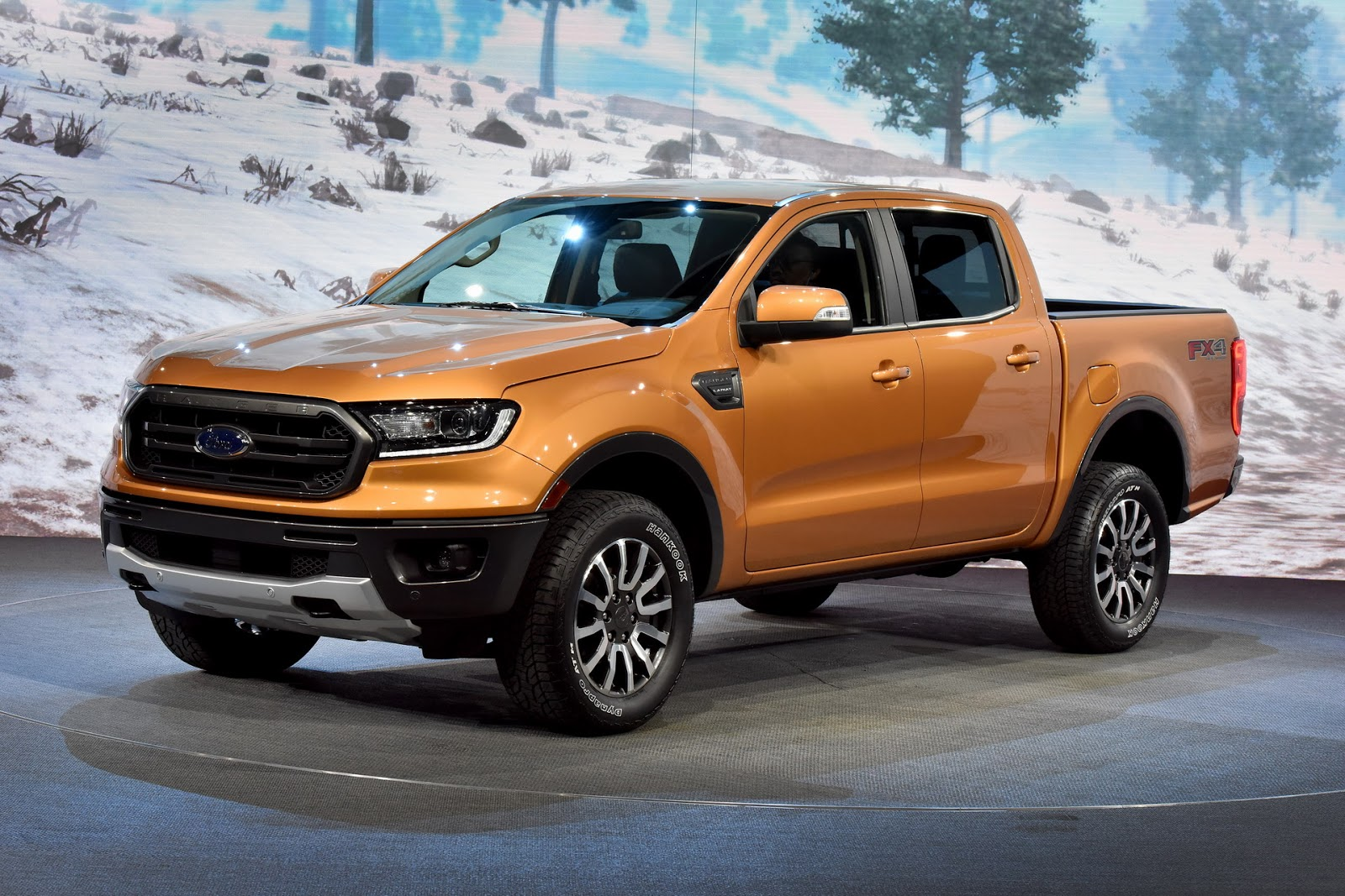 2019 ford ranger wants to become america s default midsize truck carscoops. Black Bedroom Furniture Sets. Home Design Ideas