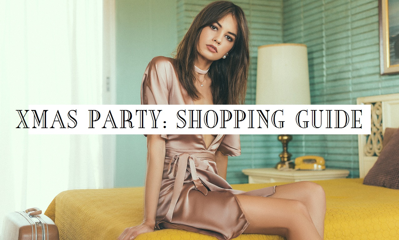 Christmas party shopping guide