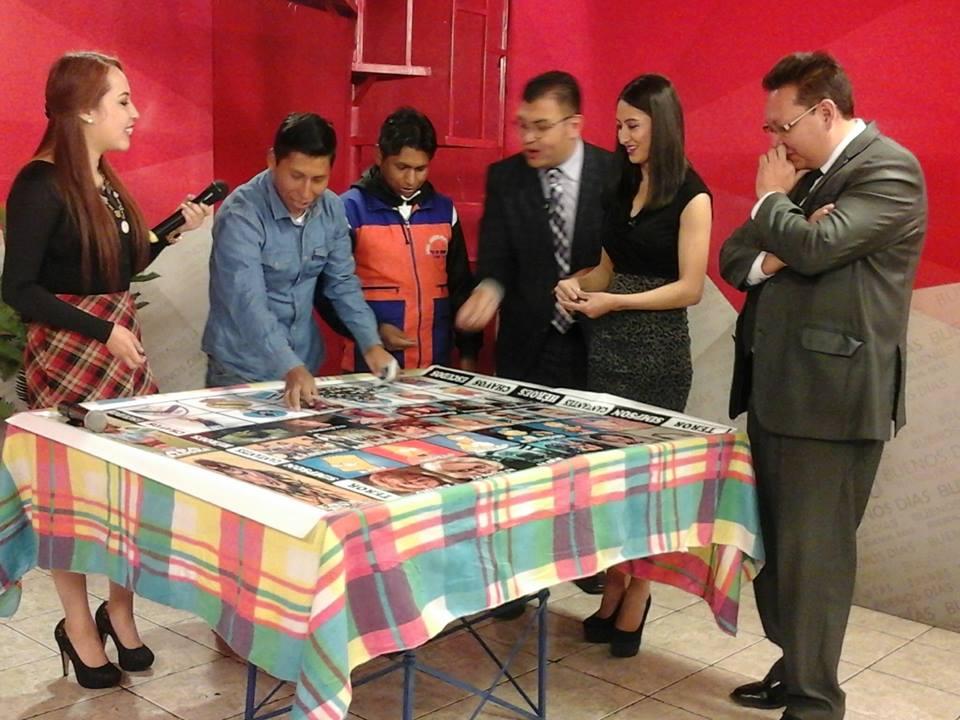 Equipo de la revista Buenos Días en su emisión de ayer / FACEBOOK CTV