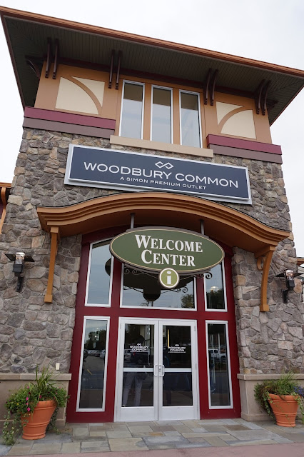 Shopping at Woodbury Common Premium Outlet New York Welcome Centre