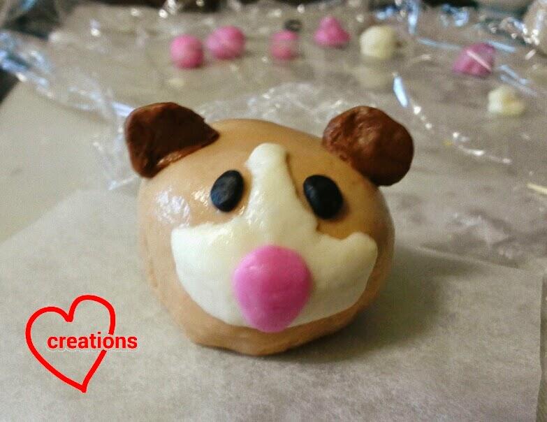 Loving Creations For You Guinea Pig Liu Sha Bao Salted
