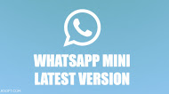 Download WhatsApp Mini v1.5.3 Latest Version Android