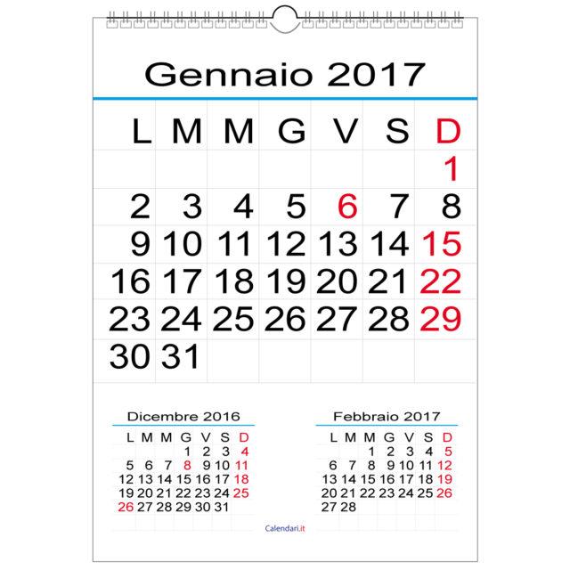 Calendario 2017 ecco tutti i ponti e i giorni di festa del nuovo anno alle porte mondo tempo - Calendario 2017 da tavolo ...
