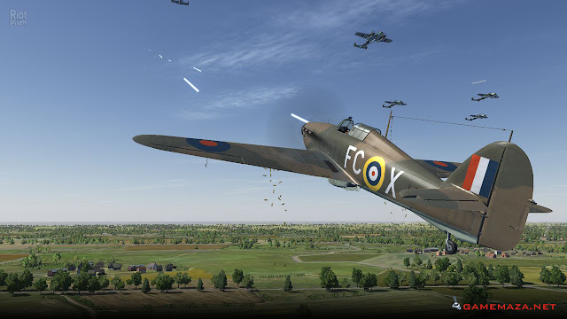 IL 2 Sturmovik Cliffs of Dover Gameplay Screenshot 4