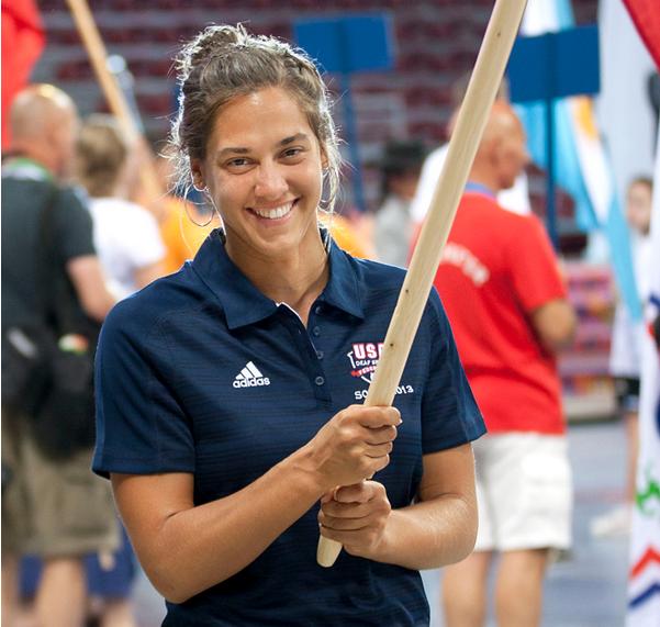 US names Shana Lehmann as flag bearer for U.S.