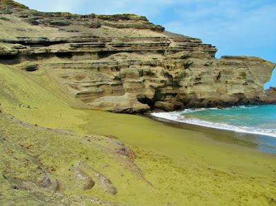 Playa arena verde - Hawái