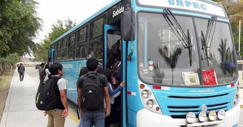 CORONAVIRUS EN PERÚ: Universidad Pedro Ruiz Gallo (UNPRG) puso a disposición sus unidades de transporte a personal de salud