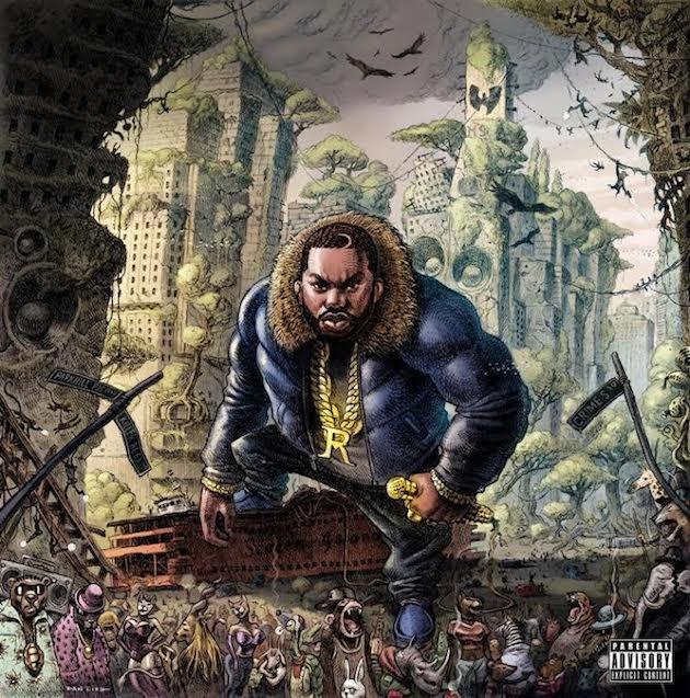 Wu Tang Clan Disciples: Raekwon - The Wild (Album Cover ...