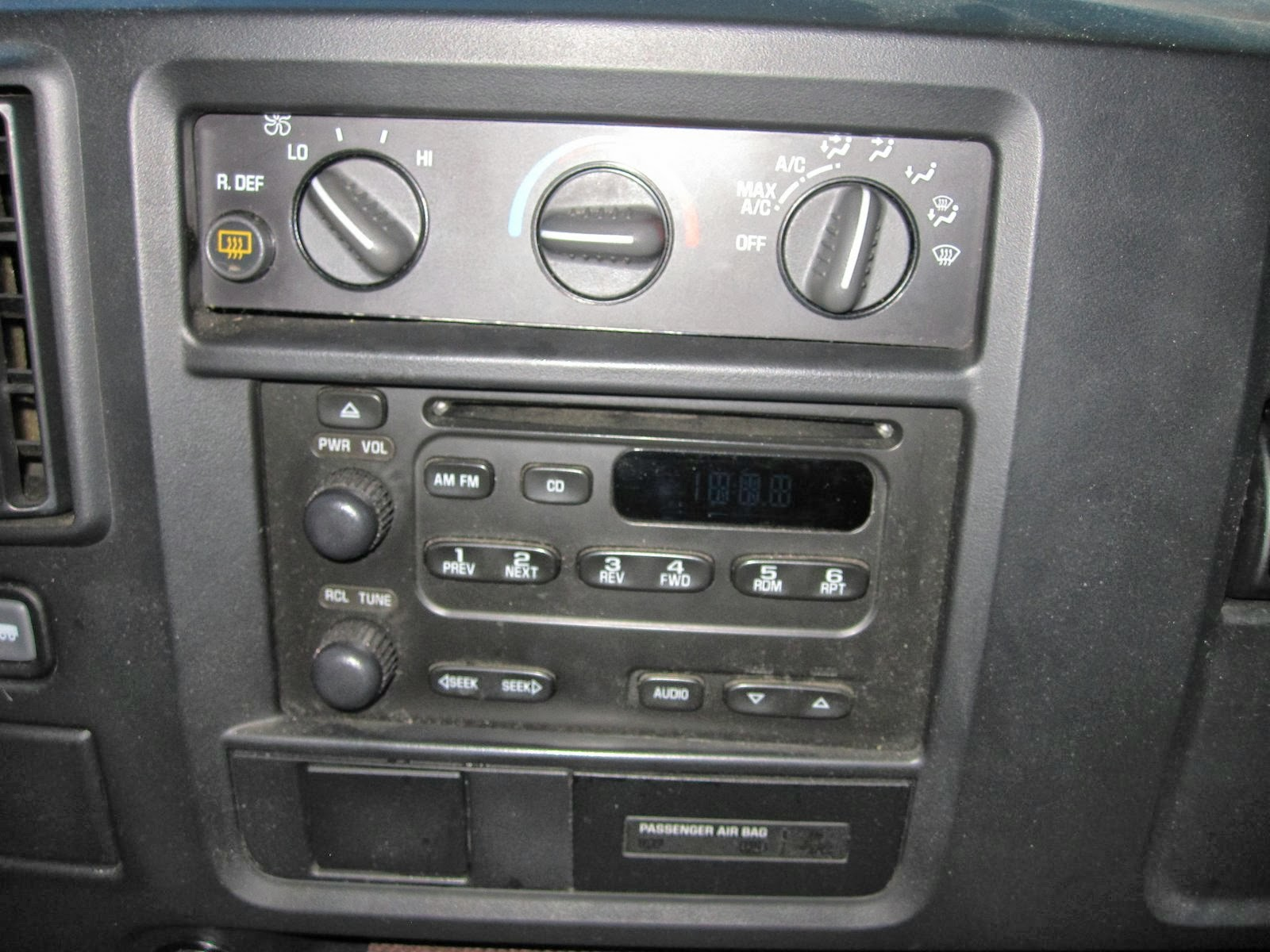2011 Chevy Van Factory Radio Wiring Trusted Diagrams 2006 Chevrolet Silverado Stereo Diagram Replacing The From A Express To Diy Rh Camperexpress Blogspot Com 1998