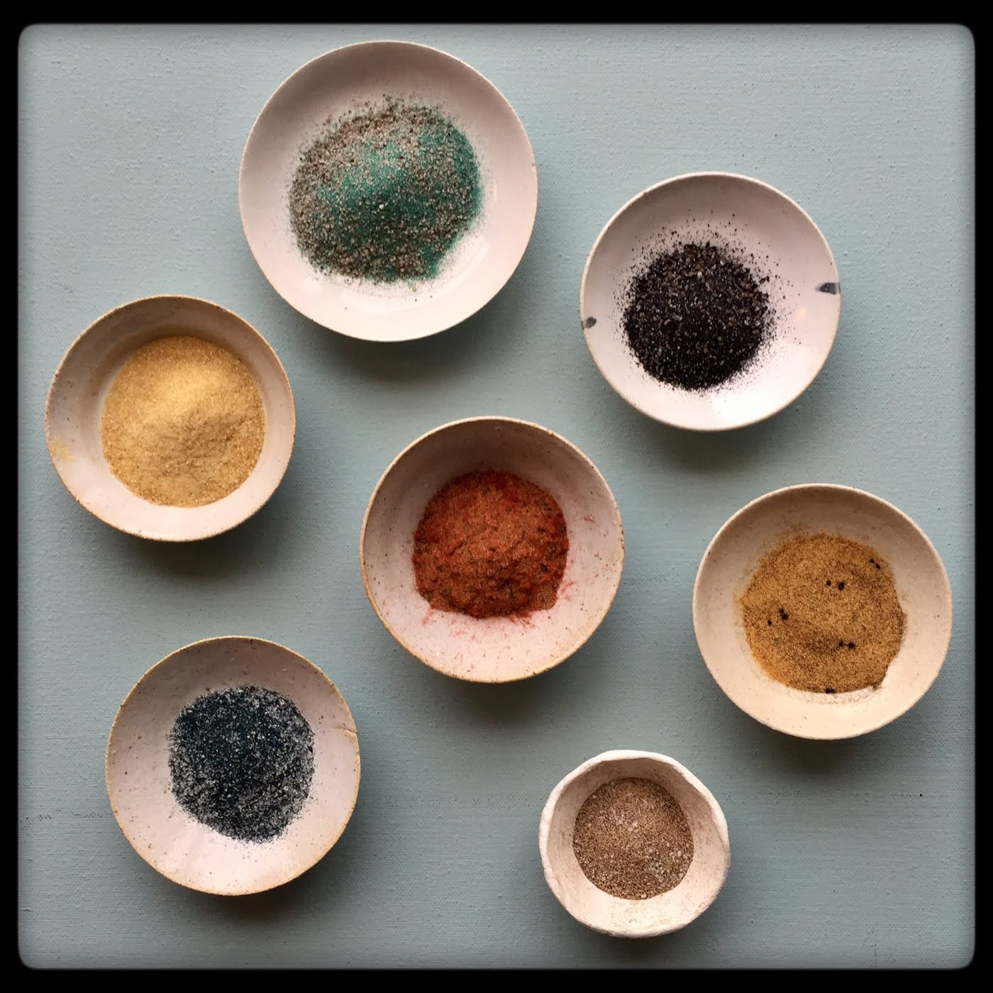 my embossing powders