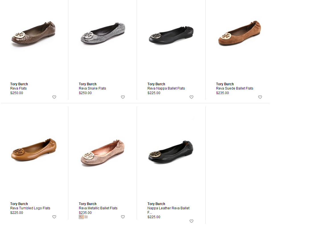 4e5f4f27a Pretty.Random.Things.  Shoe Review  TORY BURCH Reva ballet flats