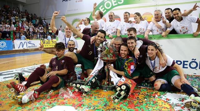 HOCKEY PATINES - Campeonato de Europa 2016 (Oliveira de Azeméis, Portugal)