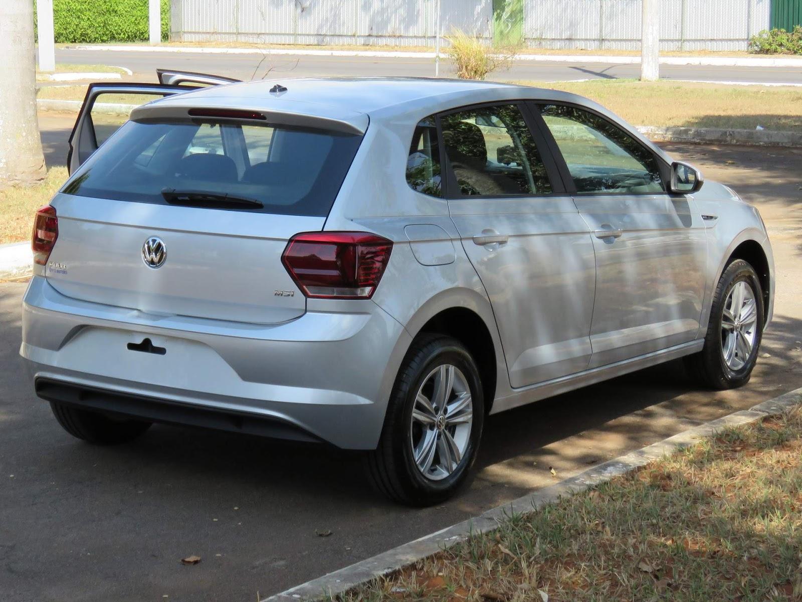 c844a245c3 VW Polo MSI 2018  hatch médio com preço de compacto