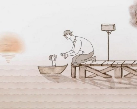 história infantil curta-história infantil-leiturinha infantil-leiturinha digital-pai e filho-pai-filho-papai-criança-rio-mar-barco-barco infantil-barco-oculos de senhor-father-son-father-child-river-water-boat-boat-boats