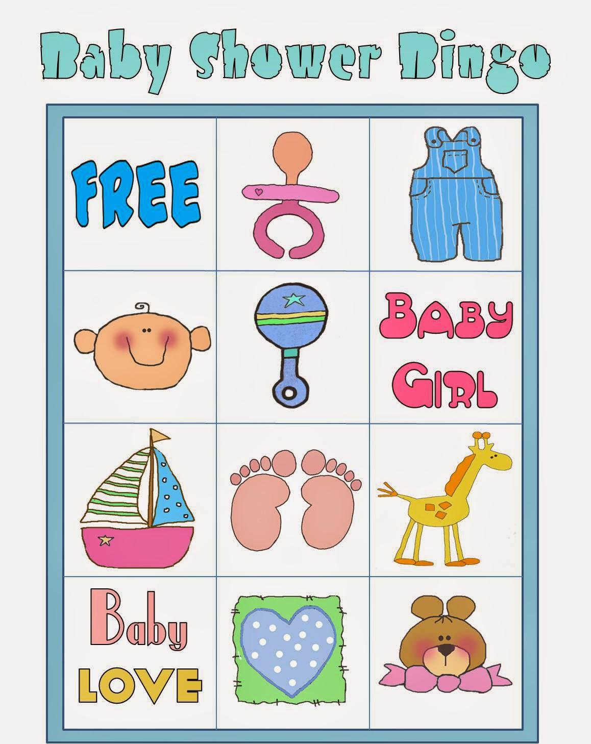 Imagenes De Bingo Baby Shower Para 50 Personas Pdf