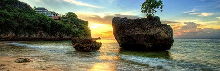 Padang beach is located at Jalan Labuan Sait BeachesinBali: padang padang beach