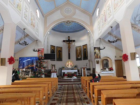 Kościół parafialny pw św. Maksymiliana Kolbe.
