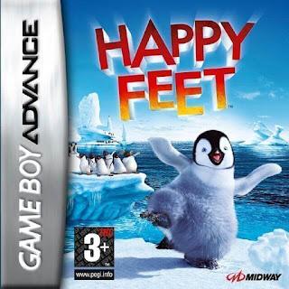 โหลดเกม ROM Happy Feet .gba