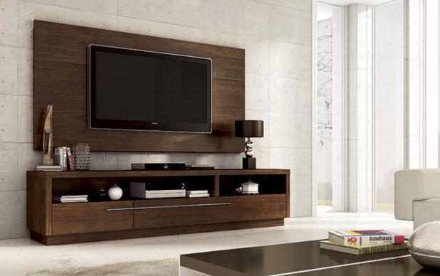 desain rak tv gantung