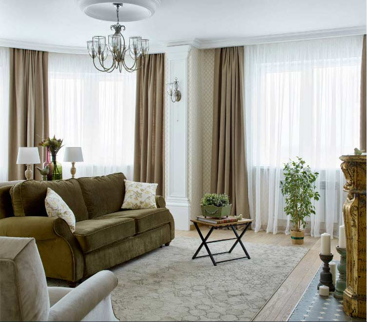 100 Hall & Living Room Curtain Design Ideas And Trends 2019
