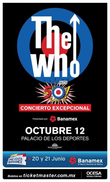 México recibe por primera vez a The Who