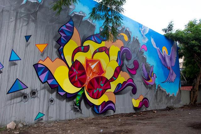 Street Art By Juan Salgado For Los Muros Hablan '13 In San Juan, Puerto Rico 3