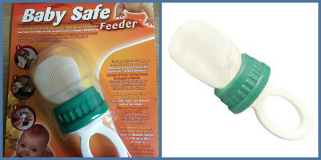 Baby safe feeder also relieves teething pain