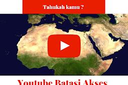Youtube Batasi Akses Berbagi Konten Kontroversional