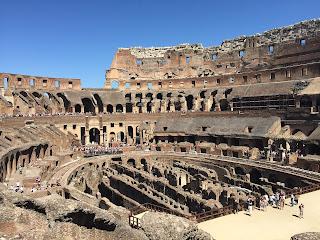 Interior anfiteatro ROMANO