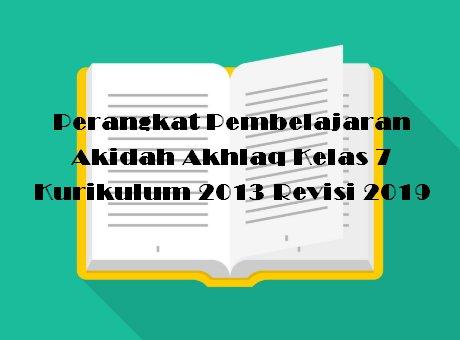 Akidah Akhlak kelas 7