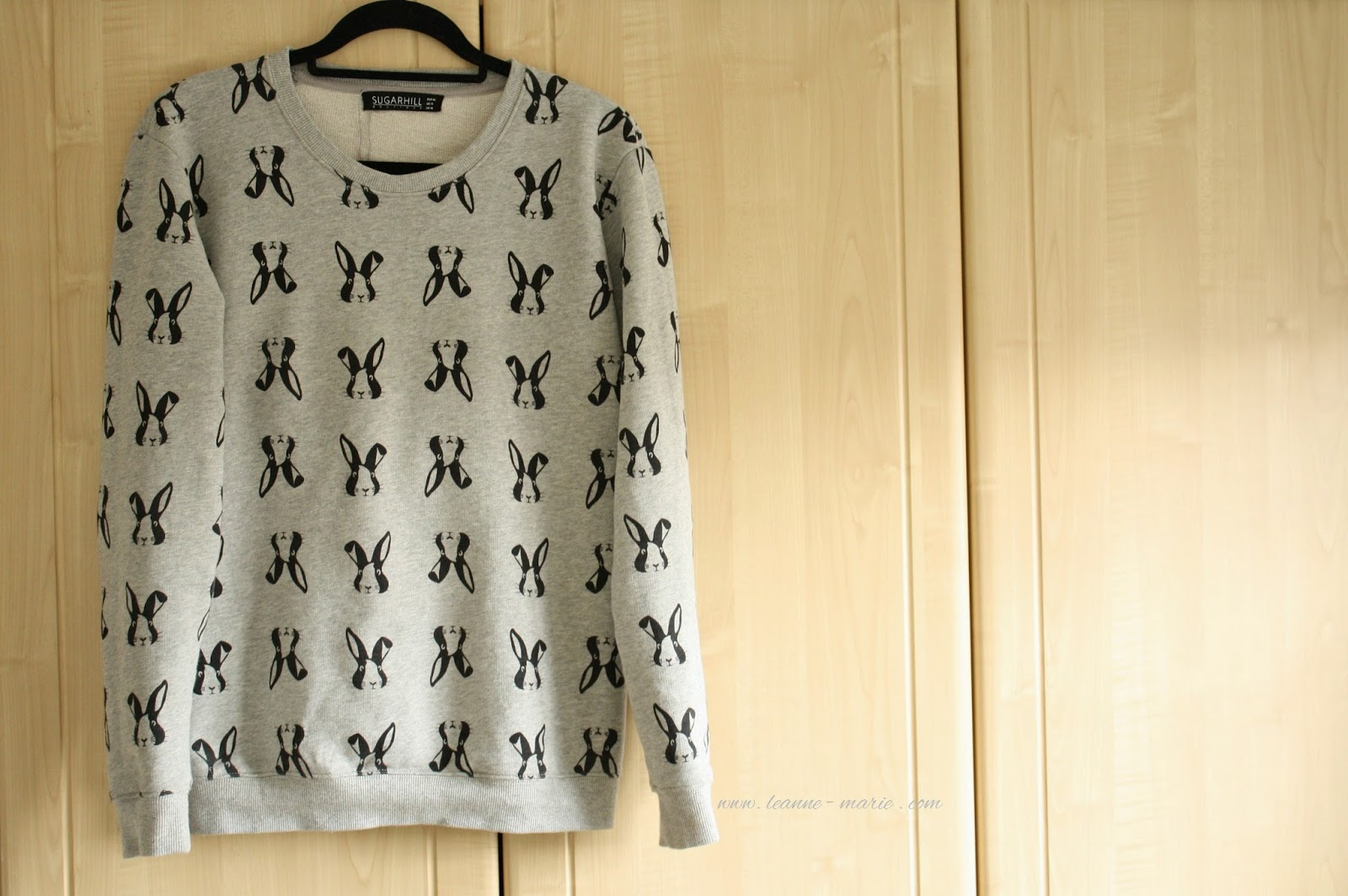 sugarhill boutique rabbiit sweater.