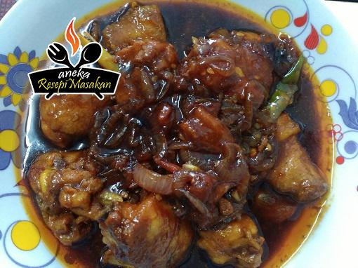 "Resepi Ayam Kicap ""Rushing"" http://banyakresepi.blogspot.my/2016/02/resepi-ayam-kicap-rushing.html"