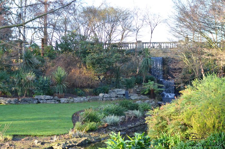 Hyde Park Wasserfall