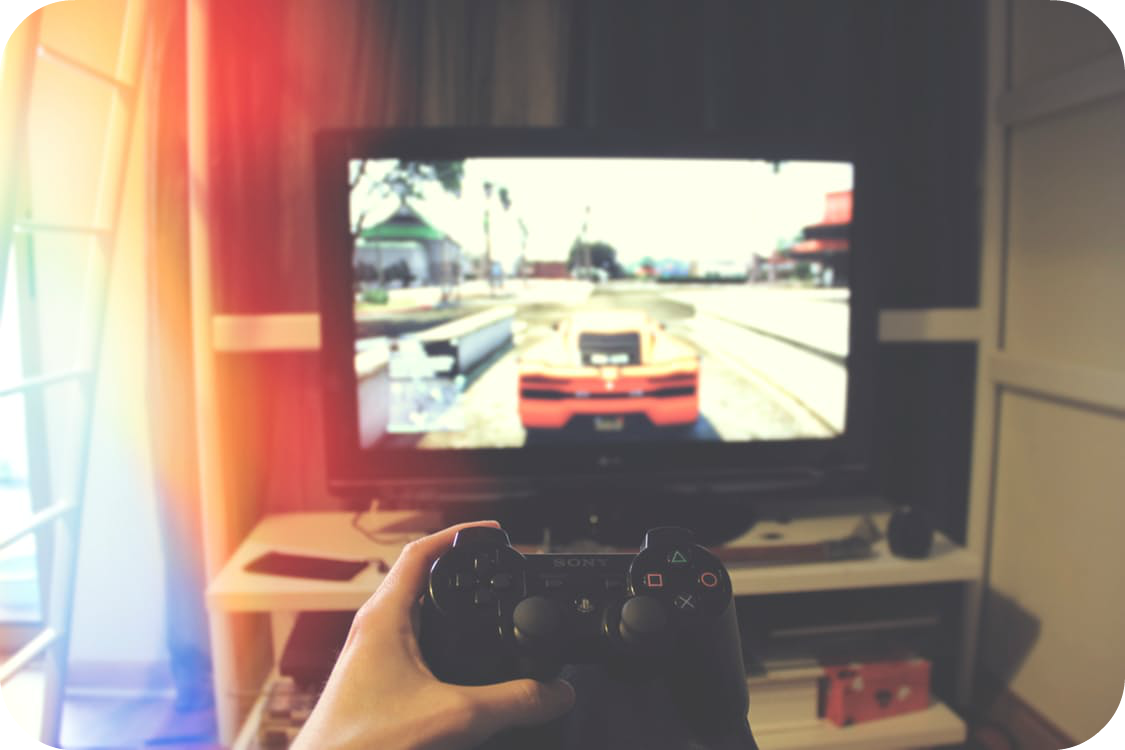 things to do on a rainy day play video games