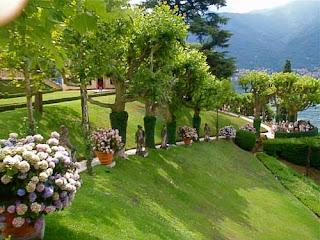 Gardens Villa Serbelloni Lake Como Italy