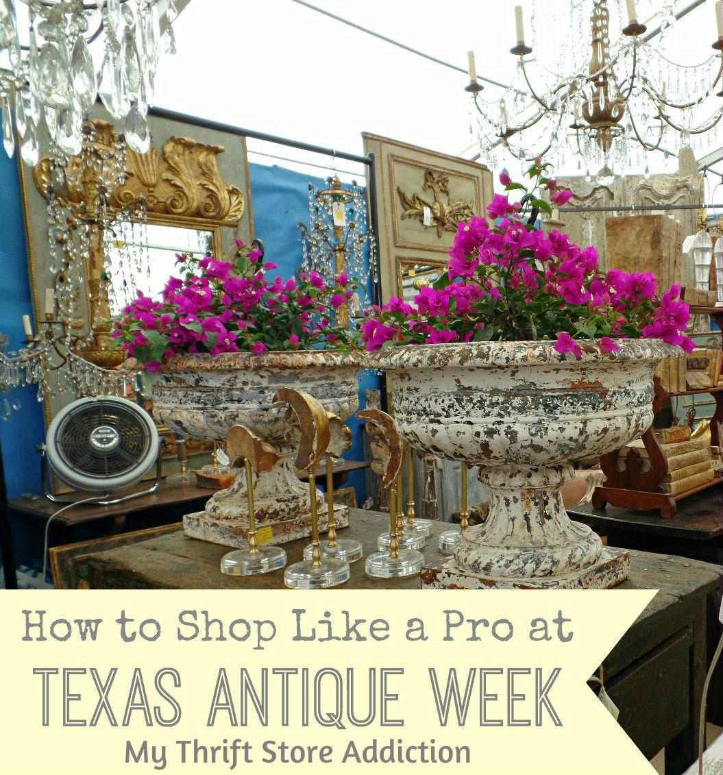Texas Antique Week tips