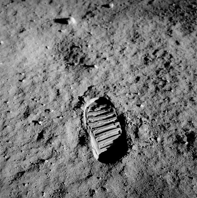 If you ever stepped on the moon, your footprints would remain there forever.