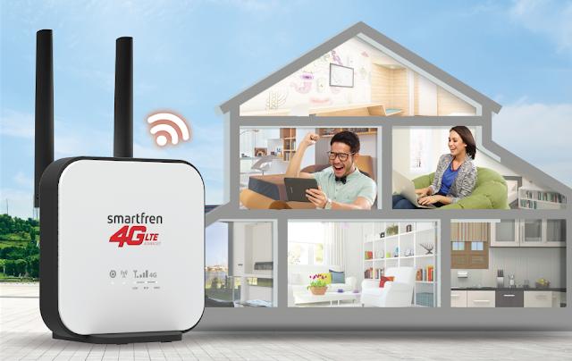MiFi Wi-Box 4G dari Smartfren