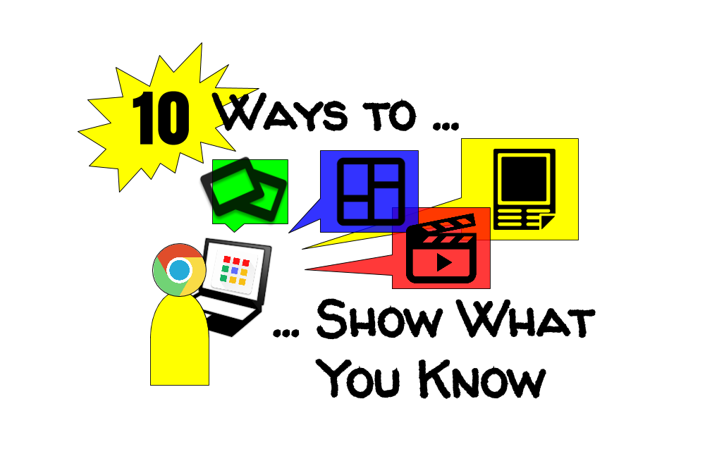 10 Google Ways to Show What You Know