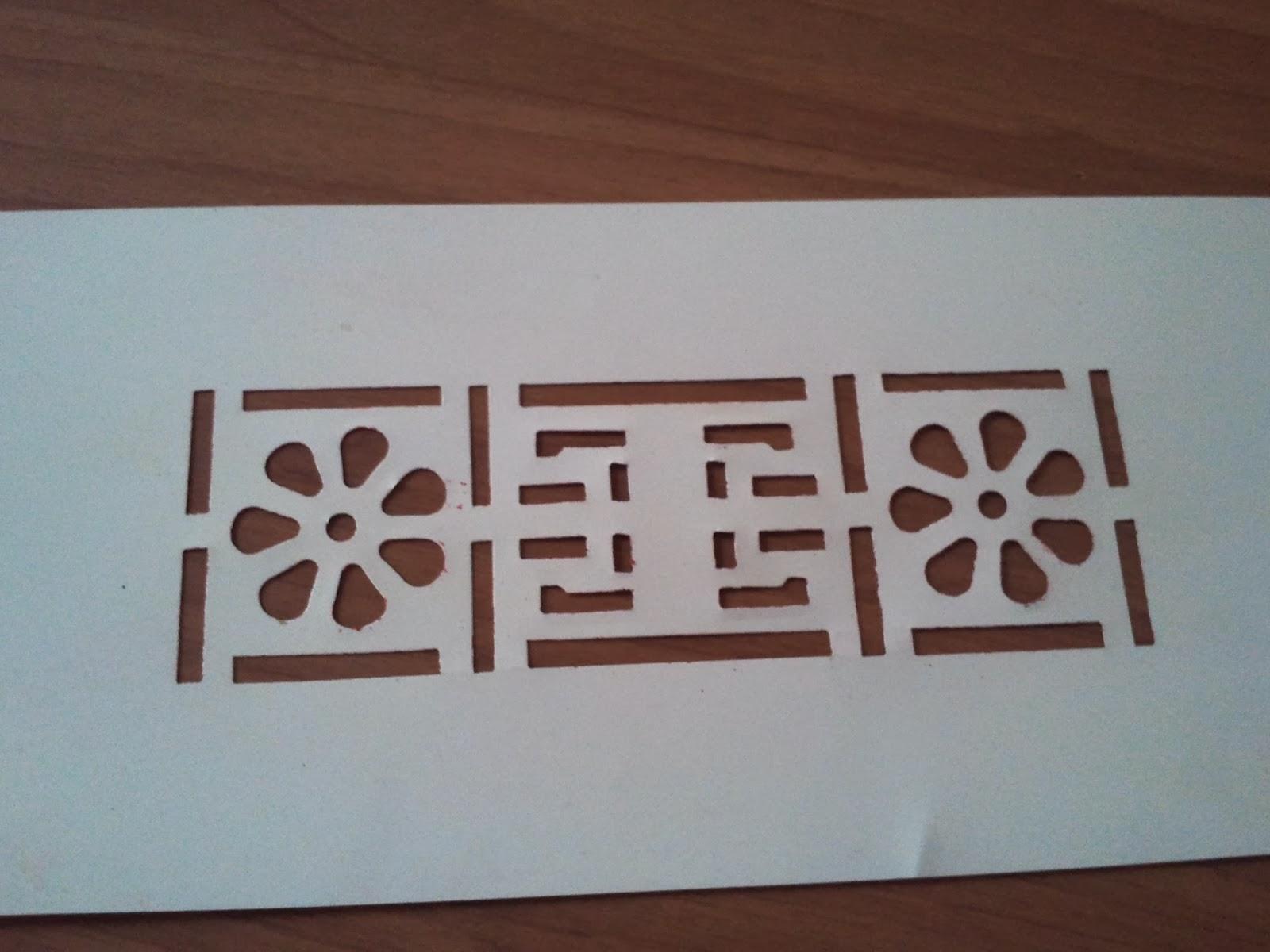 Stencil piastrelle bagno latest terrazzo with stencil for Stencil per cucina