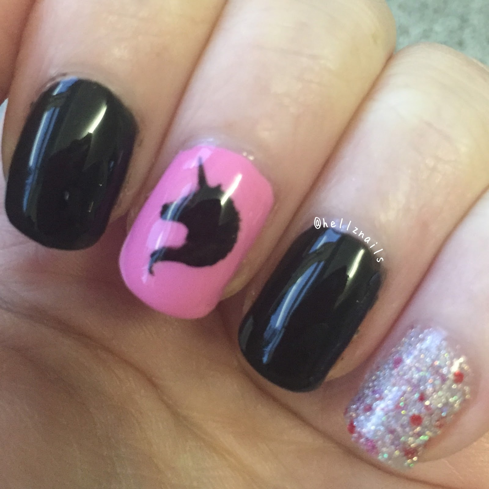 June nail art challenge unicorn hellz nails unicorn nail art true brit london taxi cab zoya sweet lacquer lust a prinsesfo Image collections