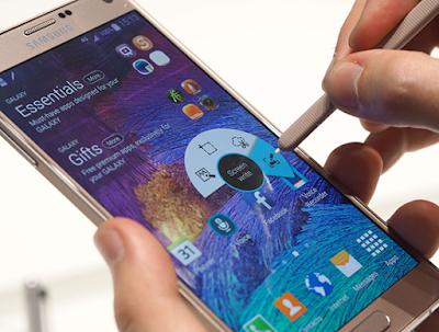 Cách chụp màn hình điện thoại Samsung
