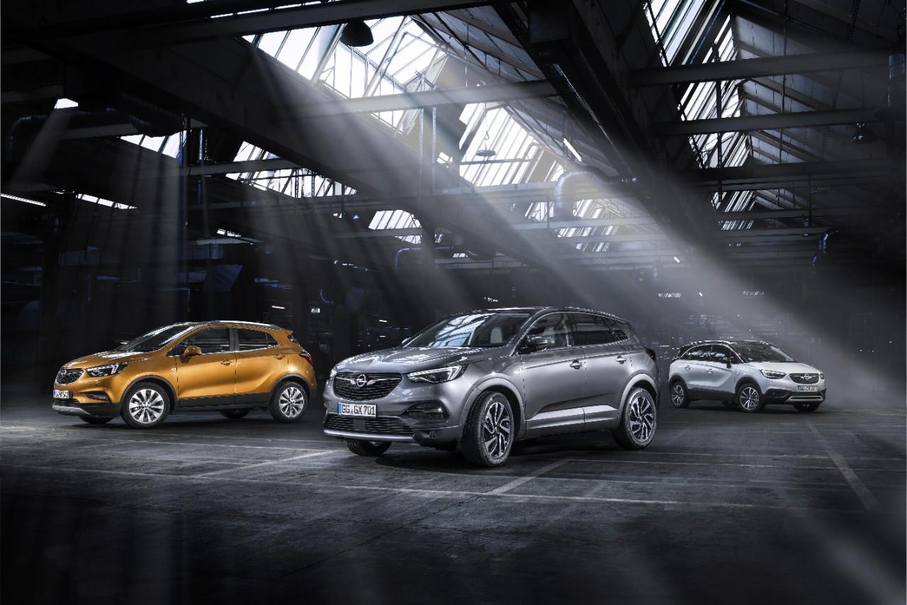 Η νέα οικογένεια μοντέλων Opel X
