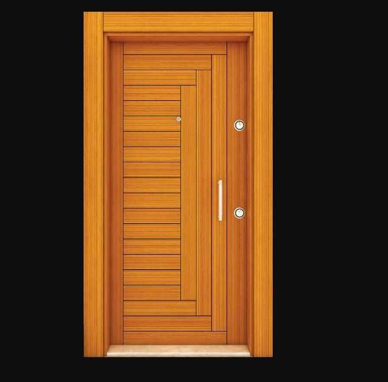 Pintu Minimalis Rumah 1 Lantai Kayu Jati