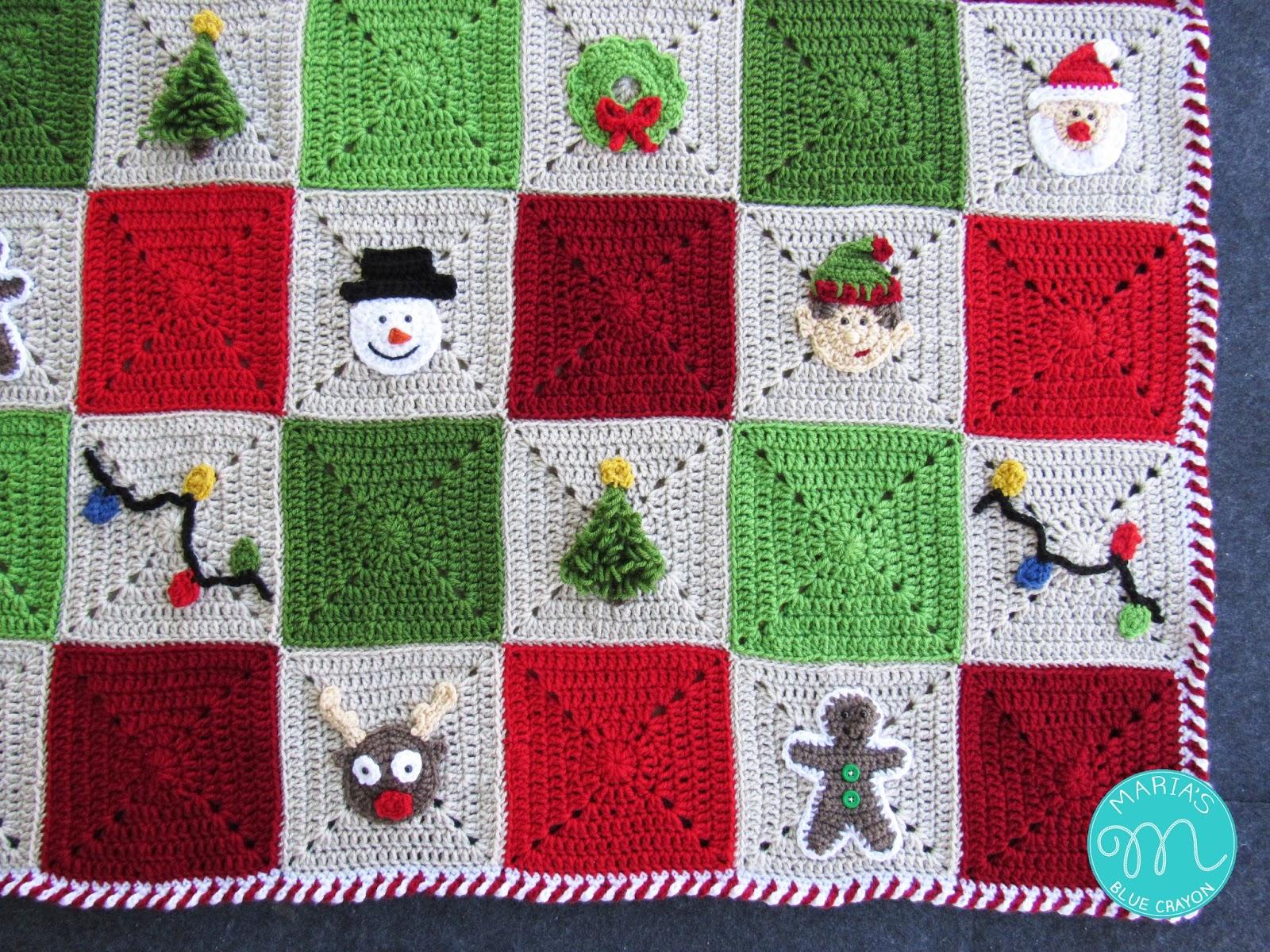 Crochet Candy Cane Stripe Border Crochet Photo Video Tutorial