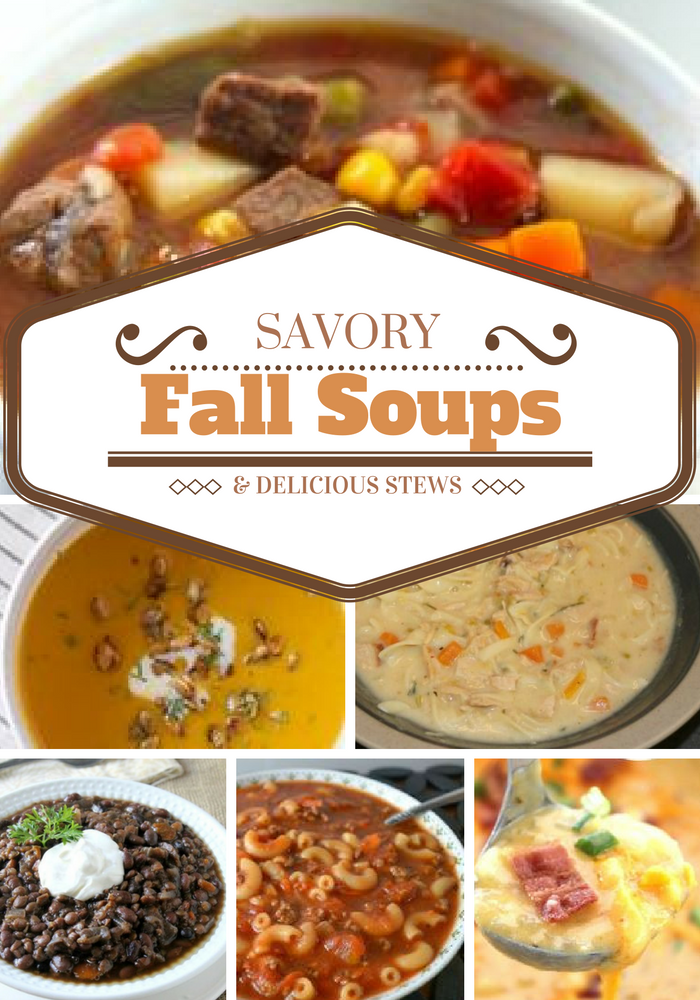 15 Savory Fall Soups and Delicious Stews