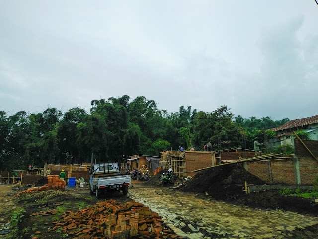 Progres pembangunan Exotic Panderman Hill Batu Malang Juni 2017